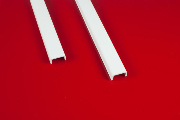 PVC Drip Mould (Weather Bar) Scotland White